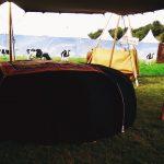 sauna verhuur op DOUR festival