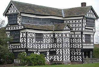 Middeleeuwse tent huren, Tudor bouwstijl 16de eeuw, kasteel tent tudor