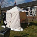 middeleeuwse tent huren