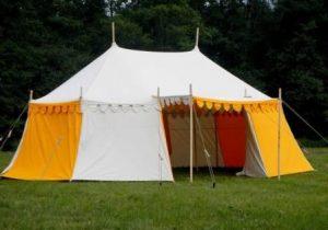 kasteel tent kopen, verkoop middeleeuwse tenten