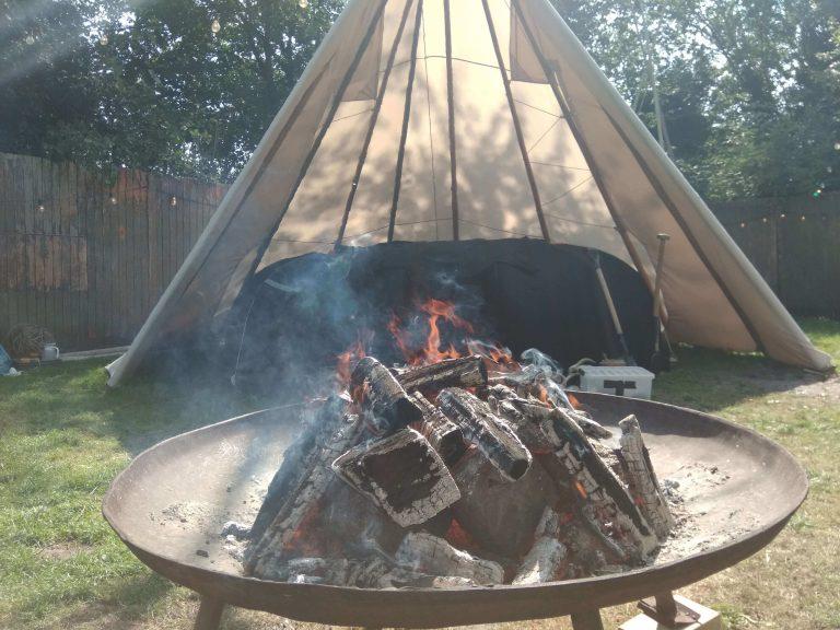 Sauna op camping Buitenland