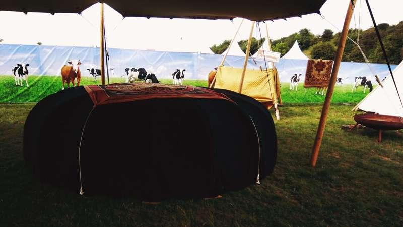 tradionele sauna op dour festival