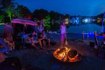 Vuurschalen huren op feesten en festivals