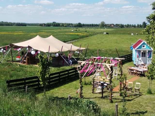 Bruiloft Noord Holland, stretchtenten huren Noord Holland