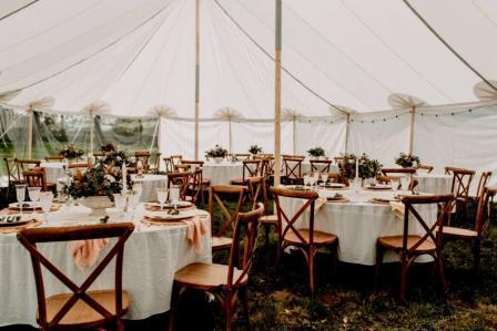 Grote tent bruiloft huren, historische tent huren