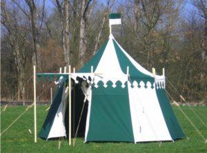 Verkoop middeleeuwse tenten en kasteel tenten