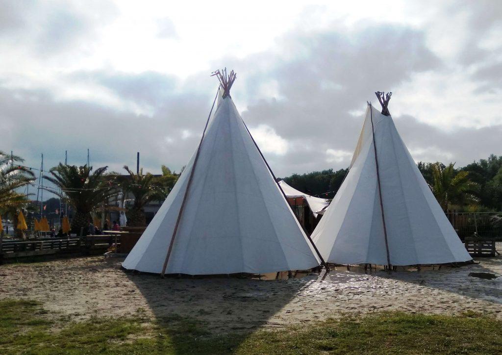 Tipi tent huren, Noord Holland, Oranje Buiten, Hoorn