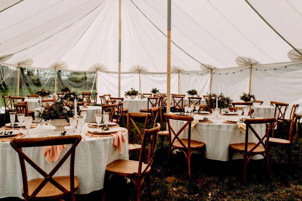 Tentenverhuur bruiloft, 10 x 15 meter, chapito historische tent