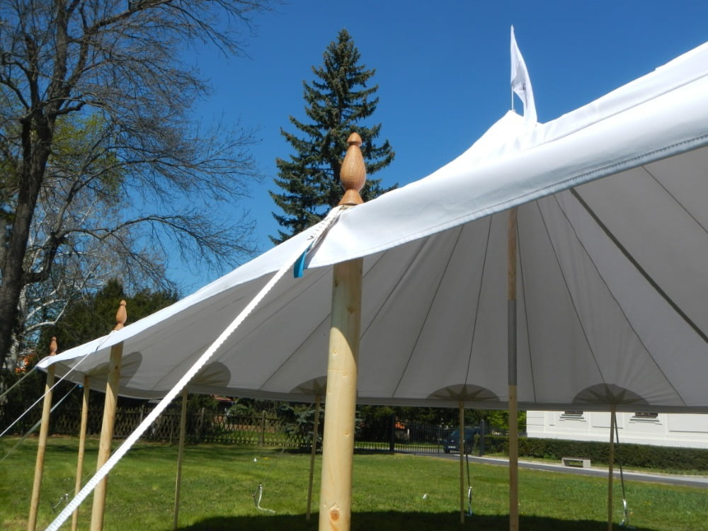 Palen en dakzeil Chapito tent
